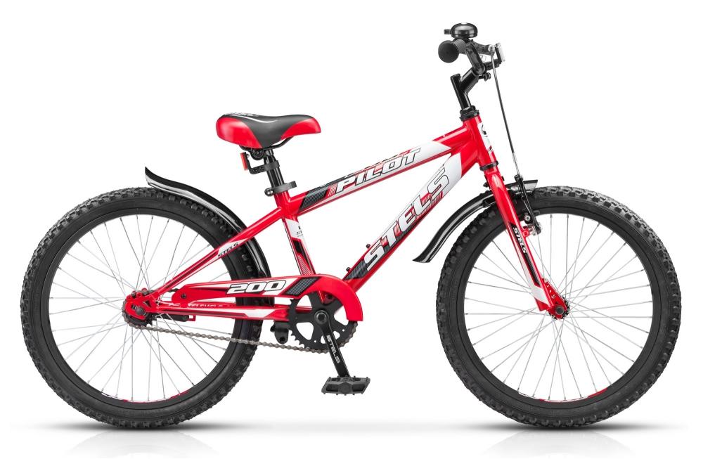 Велосипед для мальчика Стелс Пилот 200