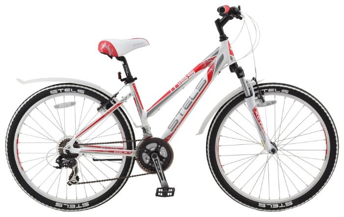 Белый женский велосипед