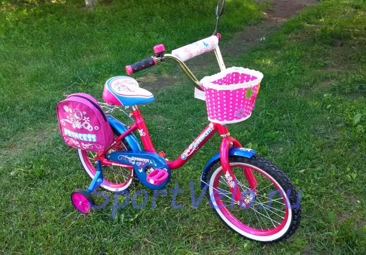 Велосипед для девочки Принцесса