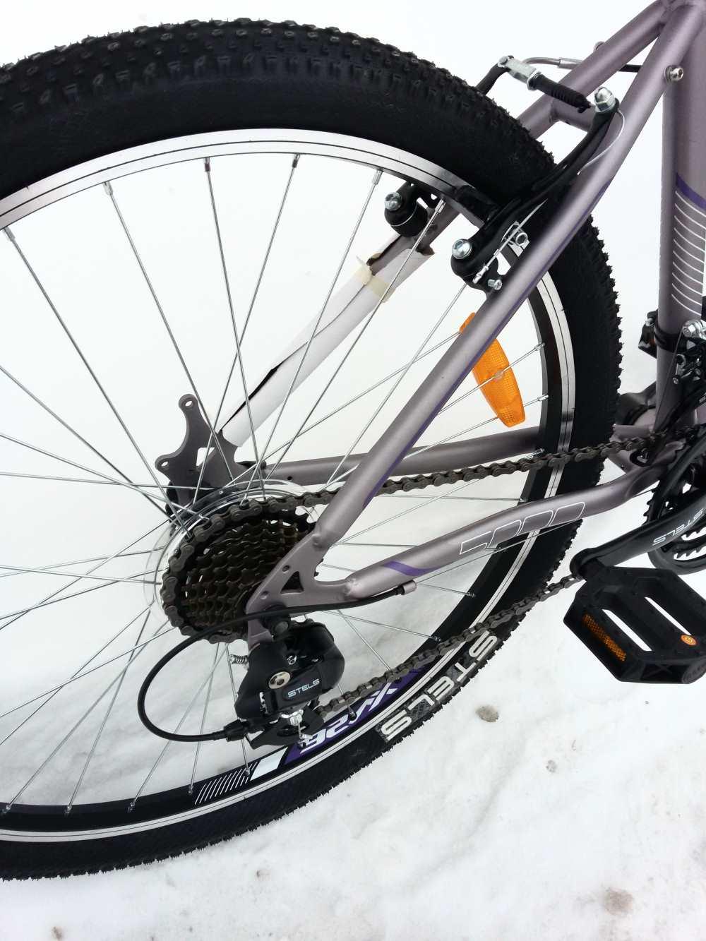 стелс сборка мисс 5000 велосипеда