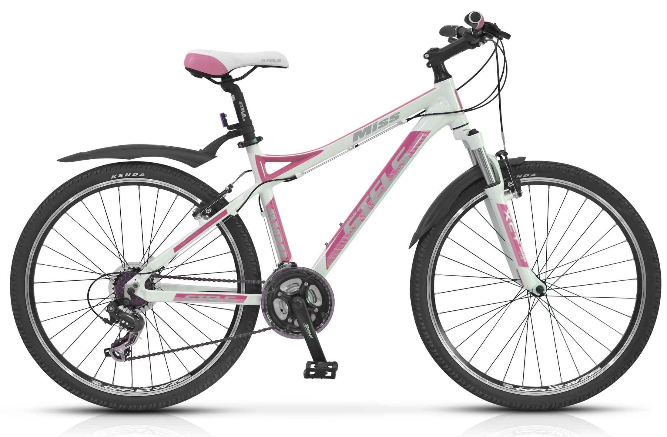 Женский велосипед розовый Stels Miss 8100 (2014) (2015)