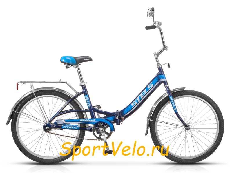 Велосипед Стелс Пилот 810 синий