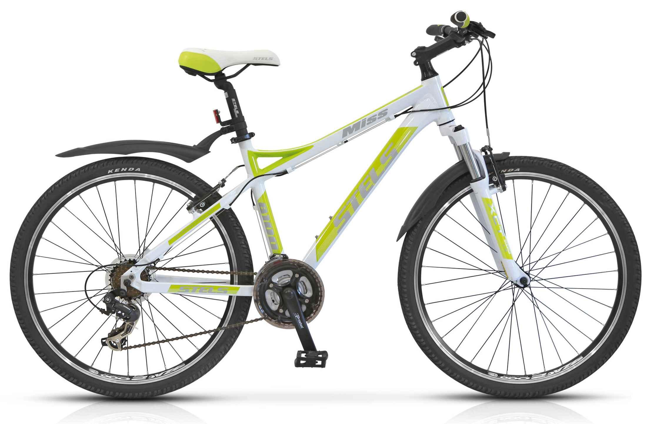 Женский велосипед Стелс Мисс 8100 (2014) (2015) зеленый
