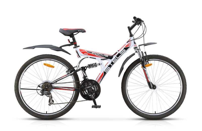 Двухподвес велосипед Стелс Фокус 21