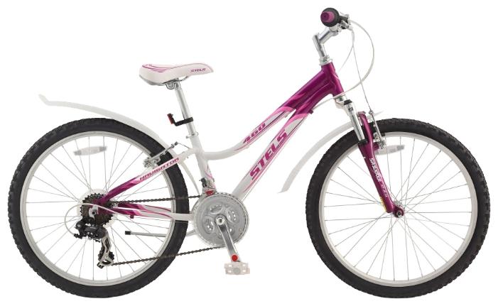 Розовый цвет велосипеда Стелс