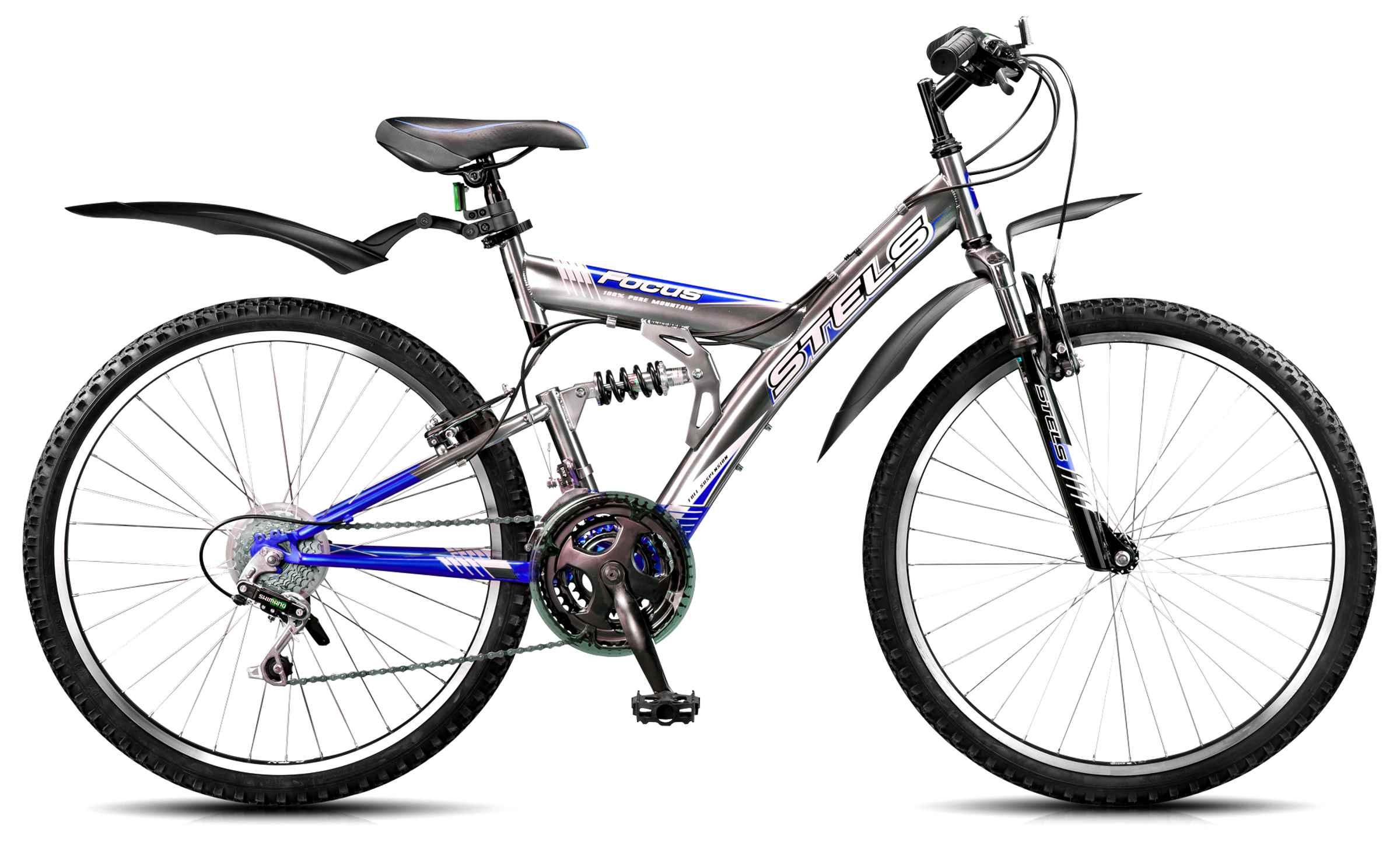 Велосипед Стелс Фокус 18 21
