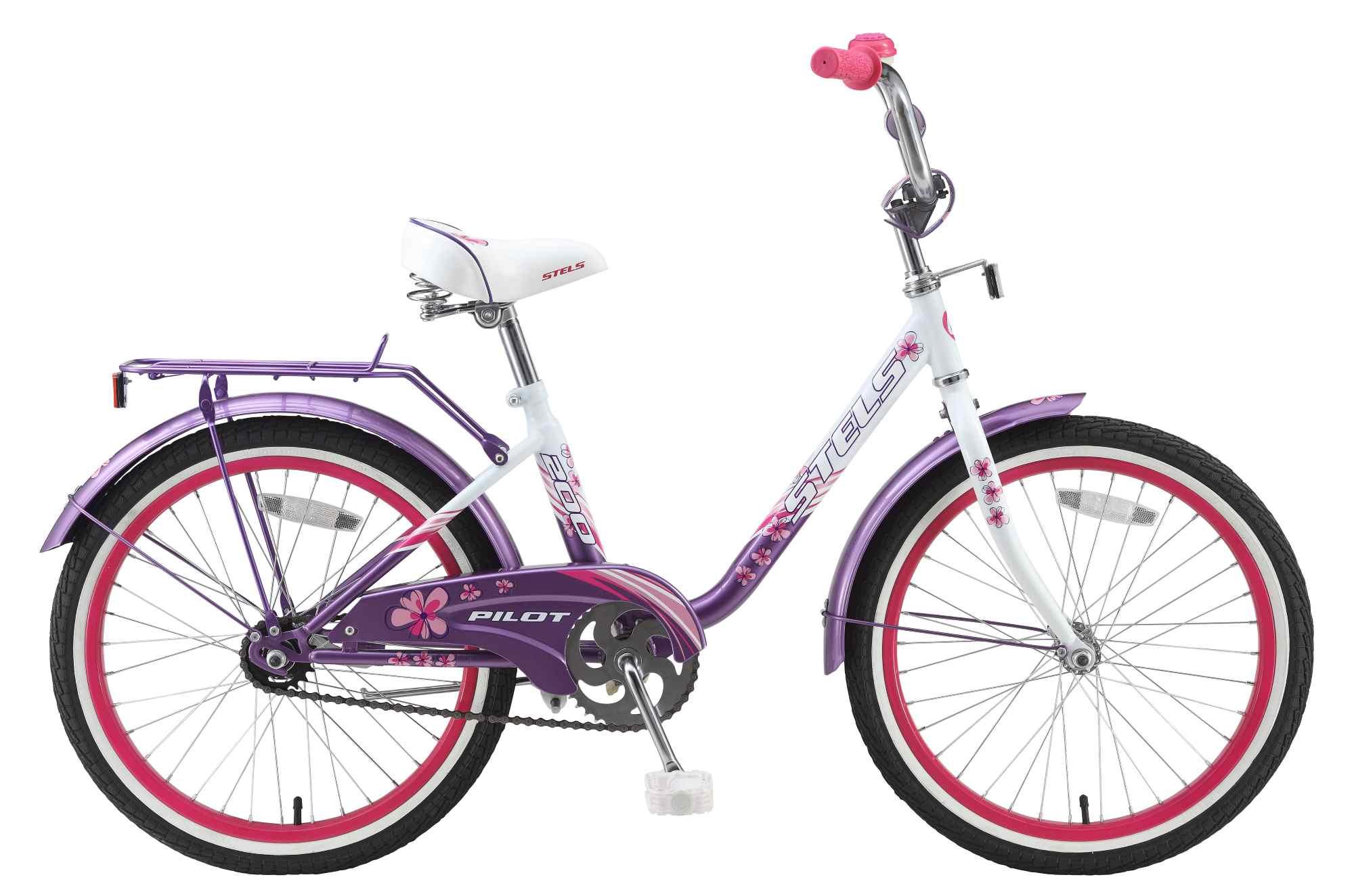 Стелс Пилот 200 (2015) розовый-пурпурный-фиолетовый