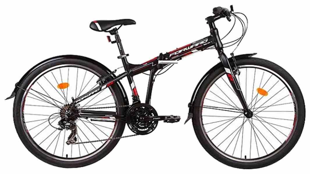 Складной велосипед из алюминия